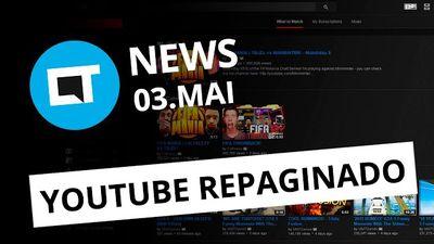 YouTube repaginado na web; Quantum Go 2 no Brasil; smartphone Microsoft [CTNews]