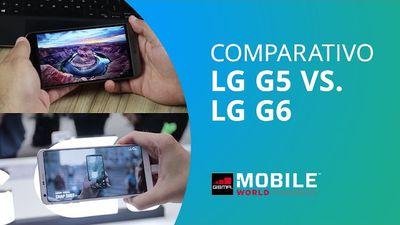 LG G5 vs LG G6 [Comparativo - MWC 2017]