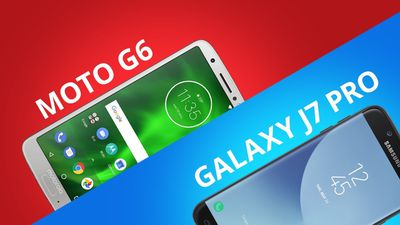 Moto G6 vs Galaxy J7 Pro [Comparativo]