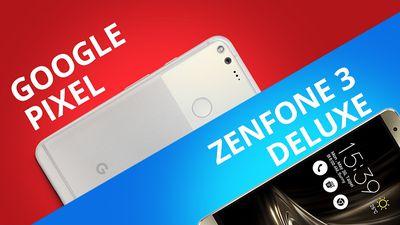 Google Pixel vs Asus Zenfone 3 Deluxe [Comparativo]