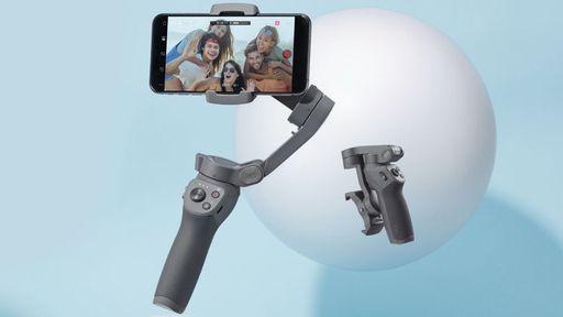 DJI lança estabilizador para celulares Osmo Mobile 3