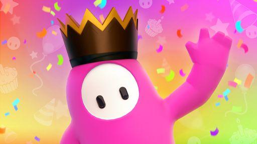 Fall Guys comemora aniversário de 1 ano com coroas em dobro e nova skin