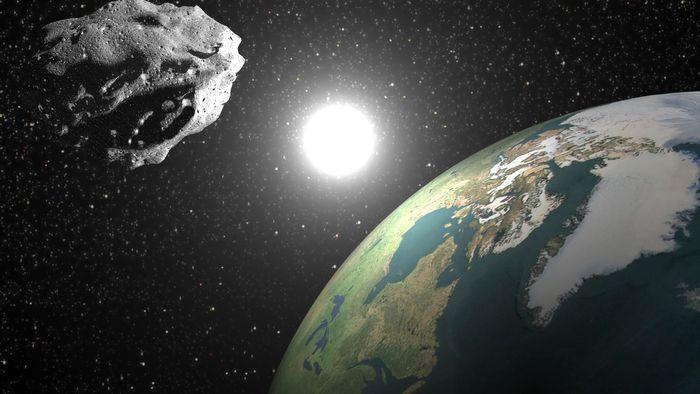 Resultado de imagem para O asteroide em questão é o 2000 QW7.
