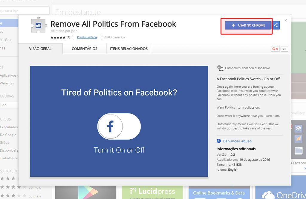 politica Facebook