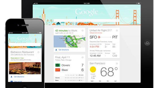 Google Now integra 70 novos apps de desenvolvedores externos