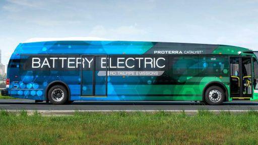 Ônibus elétrico tem bateria para rodar um dia inteiro
