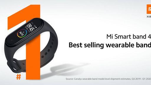 Xiaomi comemora: Mi Band 4 é a pulseira inteligente mais vendida no mundo