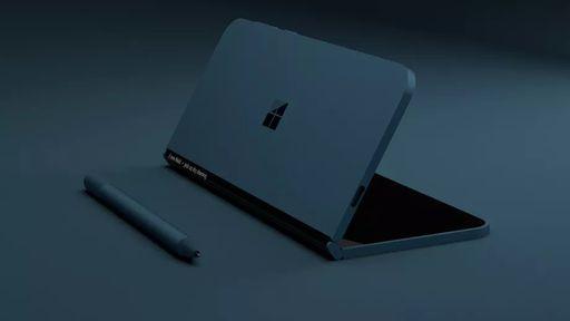 Patentes da Microsoft revelam layout do próximo Surface de tela dupla