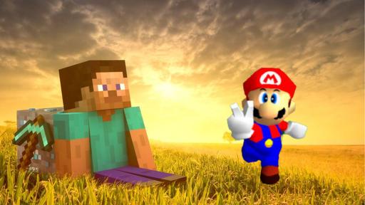 Mod coloca Super Mario 64 dentro de Minecraft