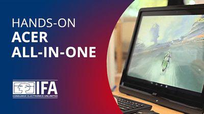 Testamos o All-in-One da Acer que roda Android e não Windows [Hands-on | IFA 2013]