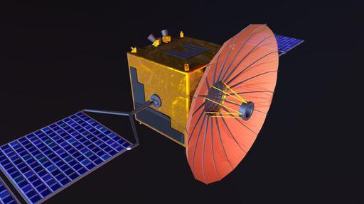 Como a missão Chang'e 4 transmite para a Terra dados do lado afastado da Lua