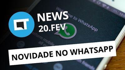 Novidades no Whatsapp, ransomware no Android e mais [CTNews]