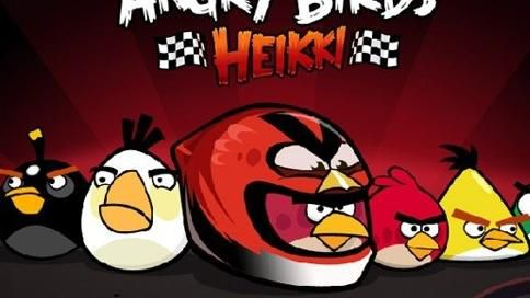 Angry Birds atacam de novo! E agora, nos autódromos