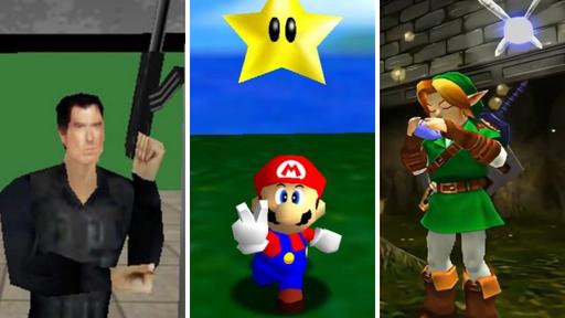 Os 10 melhores jogos de Nintendo 64