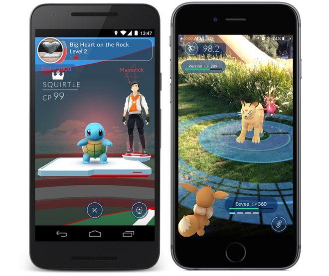 Pokémon Go ginásio