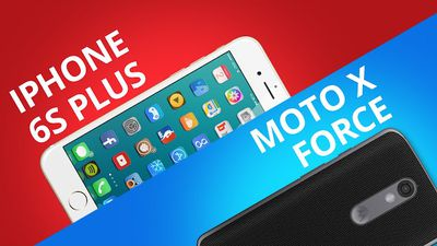 iPhone 6S Plus VS Motorola Moto X Force [Comparativo]