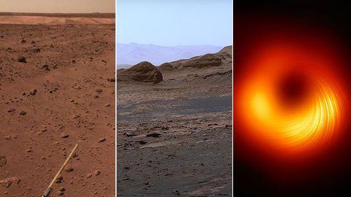 O céu (não) é o limite   Novas fotos de Marte enviadas pela China e EUA, e mais!