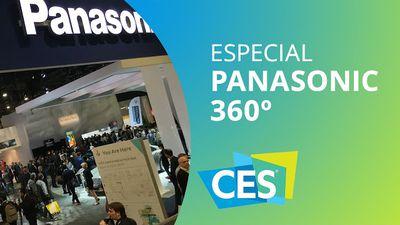 O stand da Panasonic [360º | CES 2016]