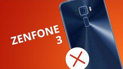 5 motivos para NÃO comprar o Zenfone 3