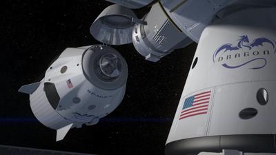 SpaceX relança Dragon levando suprimentos à Estação Espacial Internacional
