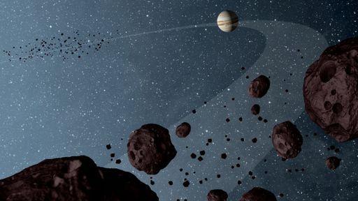 Asteroides na órbita de Júpiter têm mais diferenças do que cientistas esperavam