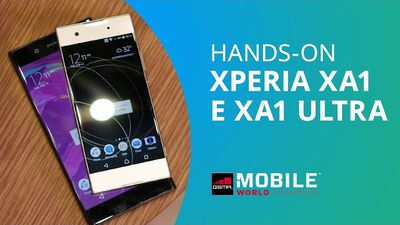 Sony Xperia XA1 e XA1 Ultra [Hands-on MWC 2017]