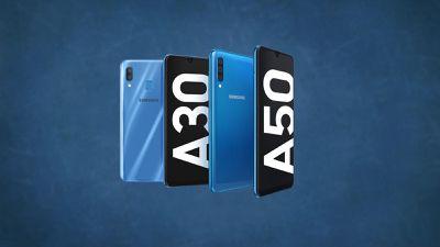 Samsung apresenta Galaxy A30 e A50 com notch em gota e foco em câmera