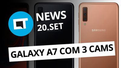 "Apple e Gradiente brigam por ""iphone""; Nova GoPro Hero7; Galaxy A7 (2018) e + [C"