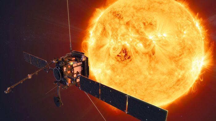 Sonda lançada nesta segunda (10) estudará os polos norte e sul do Sol