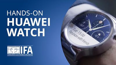 Huawei Watch entra no páreo dos bons smartwatches do mercado [Hands-on | IFA 201