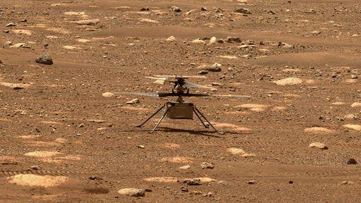 Helicóptero Ingenuity voa pela quarta vez em Marte e quebra novos recordes