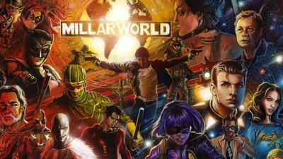 Parceria da Netflix com a Millarworld anuncia sua primeira HQ
