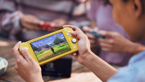 Pré-venda do Nintendo Switch Lite é liberada