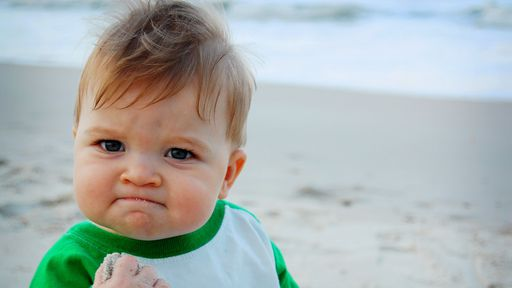 """Veja como está o bebê conhecido pelo meme """"Success Kid"""" atualmente - Canaltech"""
