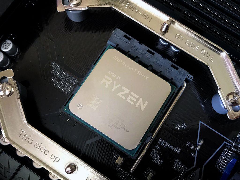 AMD Ryzen 9 5900X: 12 núcleos, 24 threads e clocks de até 4,8 GHz para entregar o melhor desempenho do segmento mainstream na atualidade