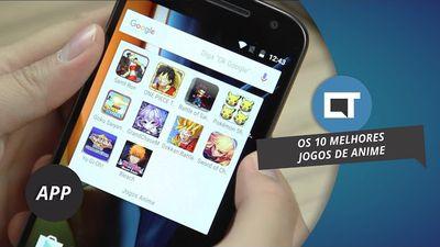 10 melhores games de anime de 2016 da Play Store #DicaDeApp
