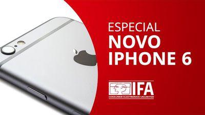 Fabricante de acessórios nos mostra um mockup do novo iPhone 6 [Especial | IFA 2