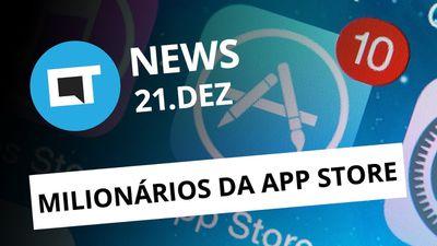 Desenvolvedores milionários da App Store; Pedofilia no WhatsApp e +[CT News]