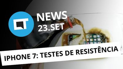 iPhone em testes extremos, viral do terrorista, mentira do Facebook e + [CT News