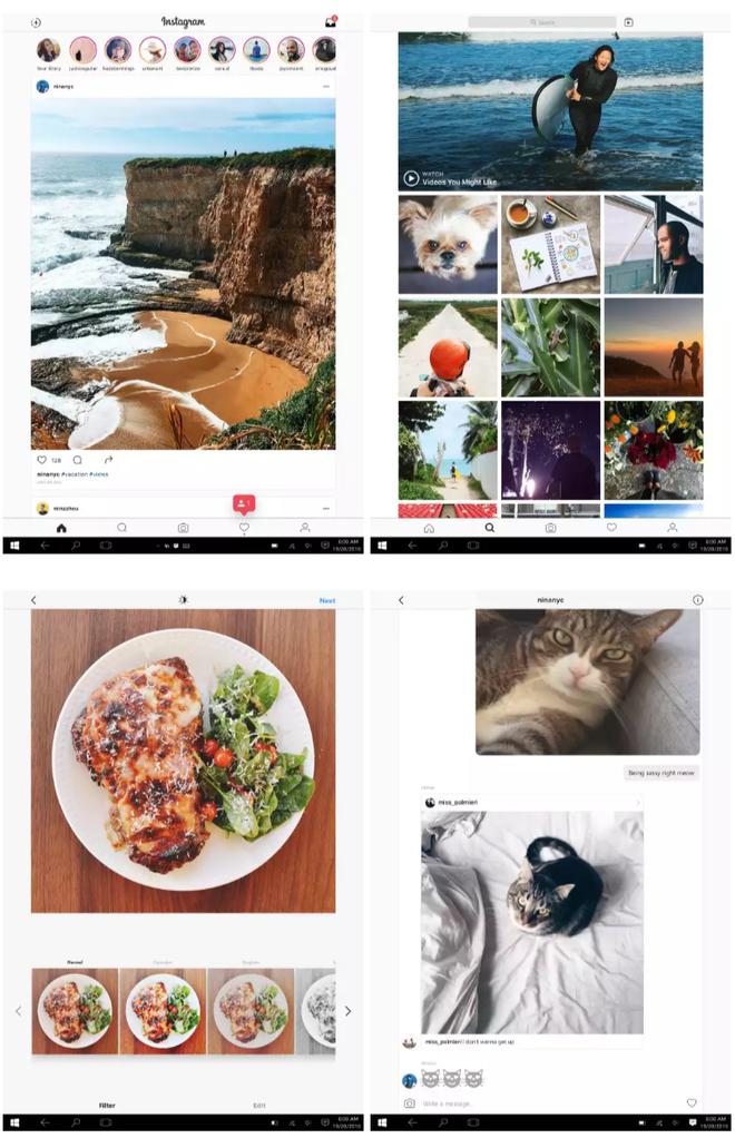 App da rede social para PCs e tablets com Windows 10 traz todos os recursos e funcionalidades que o app mobile