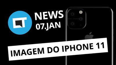 CES 2019: lançamentos e novidades; iPhone XI (11) é revelado; LG Q9 e+ [CT News]