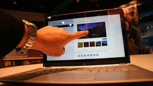 Uma enxurrada de Ultrabooks com touchscreen está prestes a invadir o mercado