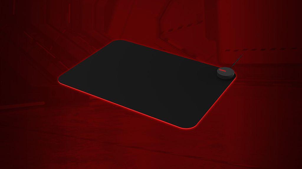 Mousepad gamer Agon AMM700 garante mais velocidade de rolamento e mais precisão no rastreio do sensor do mouse