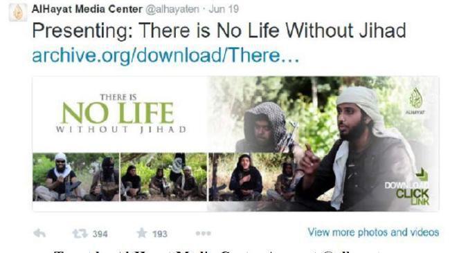 Tweet ISIS