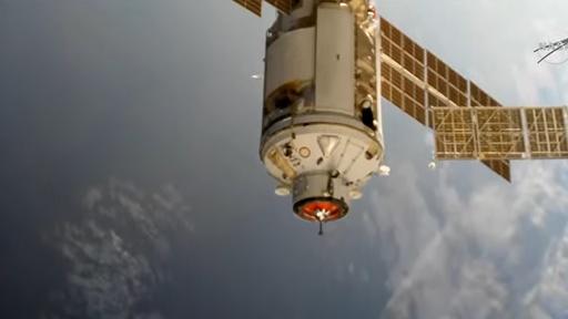 """Motores do novo módulo russo """"entortaram"""" a ISS; problema já foi resolvido"""