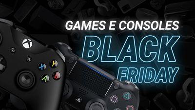 Melhores games e consoles para comprar na Black Friday