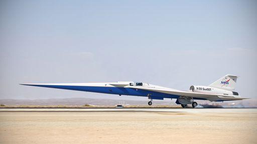 """X-59: NASA mostra em vídeo construção do avião supersônico """"silencioso""""; assista"""