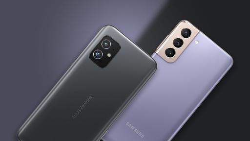 Zenfone 8 vs Galaxy S21: o que é preciso abrir mão para ter um celular menor?