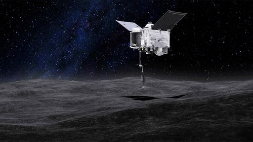 Sonda da NASA pousará em cratera no asteroide Bennu para coletar amostras