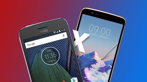 Moto G5 vs LG K10 2017 [Comparativo]